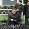 김정은원수님, 원산구두공장을 현지지도