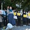 《일본정부는 공식사죄하고 배상하라!》/도꾜에서 김복동, 리모할머니추도 긴급행동