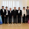 김영남위원장, 재일조선인예술단과 담화