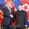 〈조미수뇌회담〉김정은원수님께서 미합중국 대통령 도날드 제이.트럼프와 상봉하시고 단독환담과 만찬을 함께 하시였다