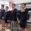 학생들모습에 감탄/후꾸시마초중에서 학습발표회