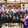 〈물에뛰여들기 세계순회대회〉맹훈련으로 기대에 보답하리/가나가와에서 조선선수단 환송모임
