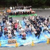 지역, 학교를 위하여 250명이 마음 모아/도꾜 이다바시동포페스티벌
