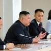 김정은원수님께서 울라지미르 울라지미로비치 뿌찐대통령과 회담하시였다