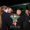 김정은원수님께서 로씨야련방 울라지보스또크시를 출발하시였다
