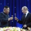 김정은원수님을 환영하여 로씨야련방 대통령 울라지미르 울라지미로비치 뿌찐각하께서 성대한 연회를 차리였다
