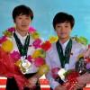 조선선수들, 11개 메달 쟁취/국제수영련맹 물에뛰여들기 세계순회경기대회
