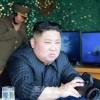 김정은원수님, 조선동해해상에서 진행된 전연 및 동부전선방어부대들의 화력타격훈련을 지도