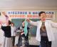 동포들의 웃음에 넘쳐/오사까 센슈지부 《동포장수마당》 개설 20주년 축하모임