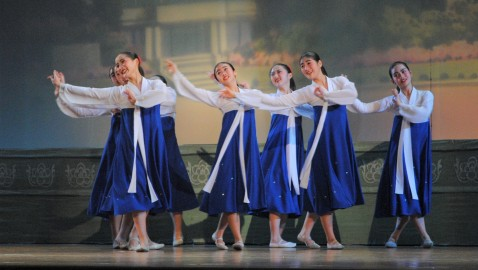 민족의 전통과 넋을 지켜/공화국창건 71돐기념 제52차 재일조선학생중앙예술경연대회 진행