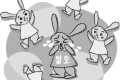 〈조선아동문학〉그림토끼들의 운동회 -하- / 최낙서
