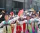 히로시마에서 《무상화》적용, 보조금재개 요구하는 평화파레이드