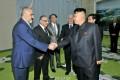 김정은원수님, 전승 60돐 경축행사에 참가하기 위하여 조선을 방문하고있는 수리아대표단을 접견