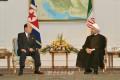 김영남위원장, 이란 하싼 루하니대통령을 의례방문