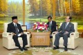 김영남위원장, 인도네시아 인민협상회의대표단과 담화