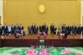 몽골대통령 조선방문/전통적인 친선협조관계발전에 기여