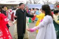 협동농장에서 조중친선모임/설명절에 즈음하여 흥겨운 춤판