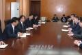 조선과 몽골 정부사이의 량해문 조인/공업 및 농업상이 평양방문