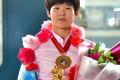 동아시아유술선수권에서 금메달/녀자 48㎏급경기