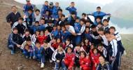 조국인민들, 중등교육실시 75돐을 열렬히 축하/민족교육 빛내여가는 동포, 학생들에게 격려의 인사
