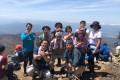 黒檜山에서 절경을 즐겨/사이다마현 북부동포등산모임