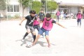 마음을 합쳐 학교 사랑하는 운동을/도꾜제5초중 채리티축구대회, 새 세대 졸업생들이 분발