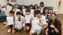 〈민족교육의 찬란한 개화기를 5〉혹가이도초중고 고1학생들의 해외류학