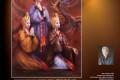 《창작활동에 위대한 자욱을 남기다》/화가 박정문씨 《바이야즈・가이드자판》에서 3년련속수상