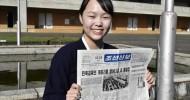 〈애독자를 찾아서/《조선신보》창간 75돐에 즈음하여 6〉조선대학교 한윤옥학생