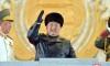 김정은원수님 참석밑에 조선로동당 제8차대회기념 열병식 성대히 거행