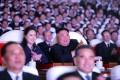 김정은원수님, 광명성절기념공연을 관람