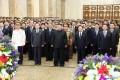 김정은원수님께서 민족최대의 경사스러운 광명성절에 즈음하여 금수산태양궁전을 찾으시였다