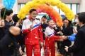 조선선수들의 국제경기복, 《단상》표 체육복/만경대체육복장제작소에서 제작