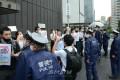 통일 가로막는 군사연습에 치솟는 분노/6.15청년단체가 도꾜-서울에서 동시행동