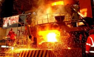 천리마제강련합기업소 초고전력전기로