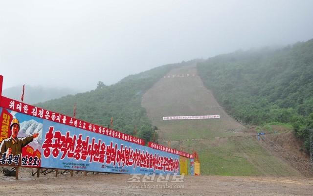 10개의 스키주로형성공사는 6월 30일까지 결속되였다.(사진 김리영기자)