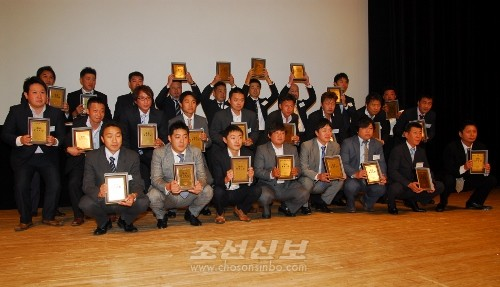 각종 KYC상를 수상한 단위 대표들