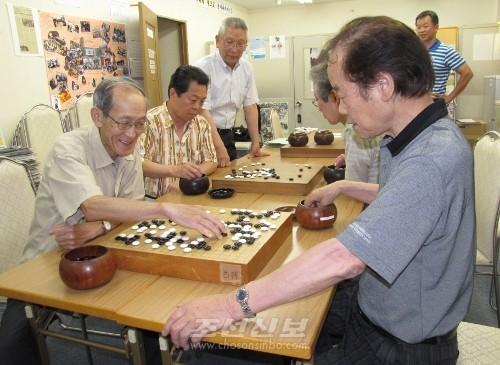 〈모여라 동포들!!〉총련교또 니시징지부 바둑소조
