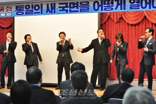 동포남성중창 모임인 《아애》