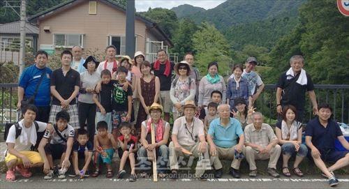 강놀이모임 참가자들