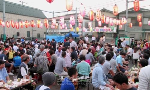 남녀로소 450여명의 동포들로 시종 흥성거린 야회