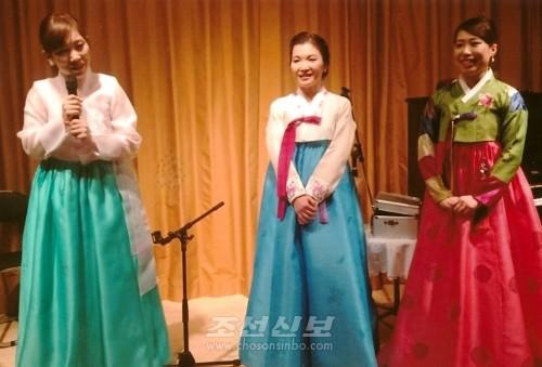 《산봉회》결성 20돐을 빛내인 새 세대 동포예술인들