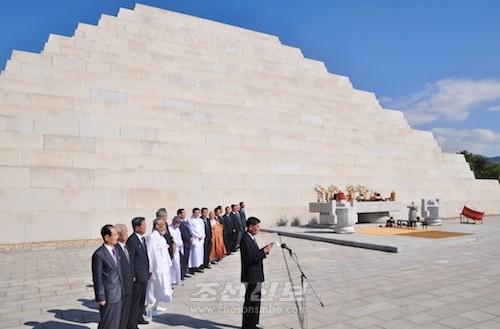 민족공동행사는 북, 남, 해외 동포들의 통일의지를 크게 과시하였다.(사진 김리영기자)