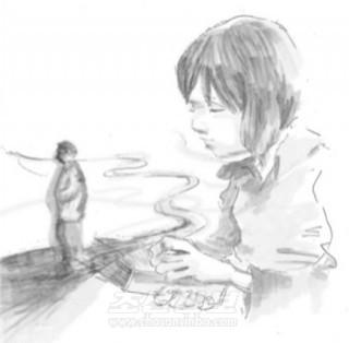 《1세에 대한 추억》 삽화-박주복(혹가이도초중고 교원)