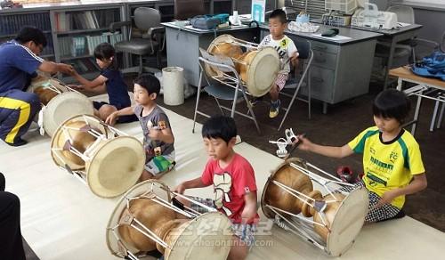 누마즈지역에서 진행되고있는 토요아동교실
