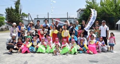 이번 운동회에는 많은 동포들이 모였다.