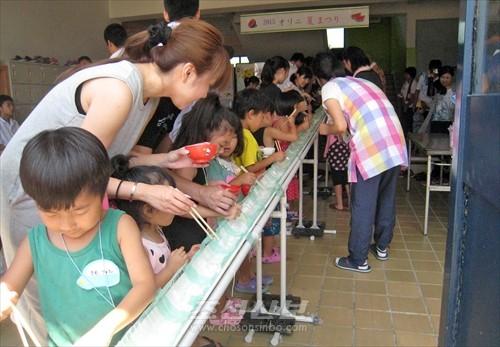 8월에 진행된 《고구마회》가 주최한 여름행사(사진제공=총련 나라현본부)