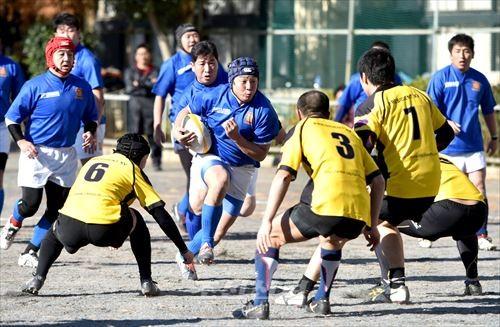 가나가와투구단 대 수도리그선발의 경기