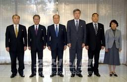 태양절기념 재일본조선인대표단 평양 도착