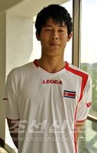 22살이하 조선축구팀에 선출된 재일동포 안병준선수